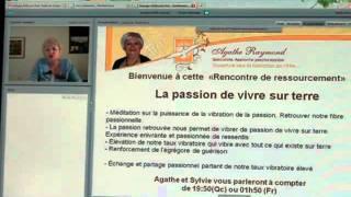 Méditation à partager  - la passion de vivre par Agathe Raymond