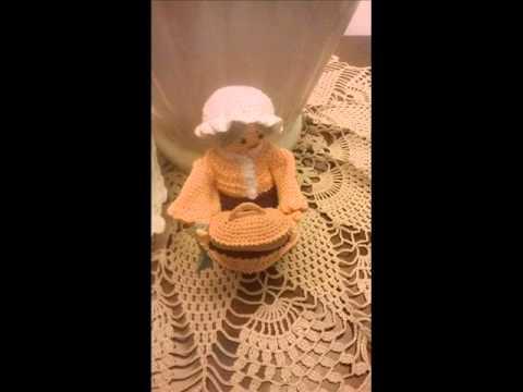 amigurumi personaggi presepe 2015 - YouTube