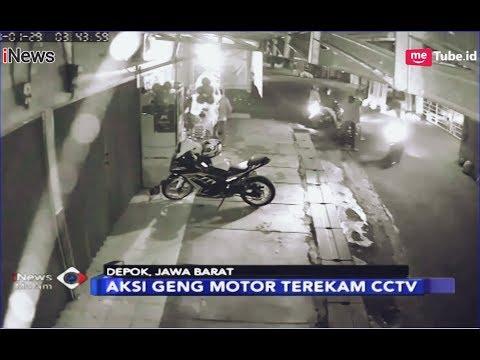 SADIS! Rekaman Aksi Geng Motor Depok Bacok Warga Cimanggis - iNews Malam 30/01