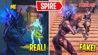 I Pretended To Be The Spire BOSS In Fortnite (Mythic Shotgun)