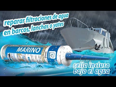 Tipsellador c mo reparar filtraciones de agua en embarcaciones lanchas o yates youtube - Reparar filtraciones de agua ...