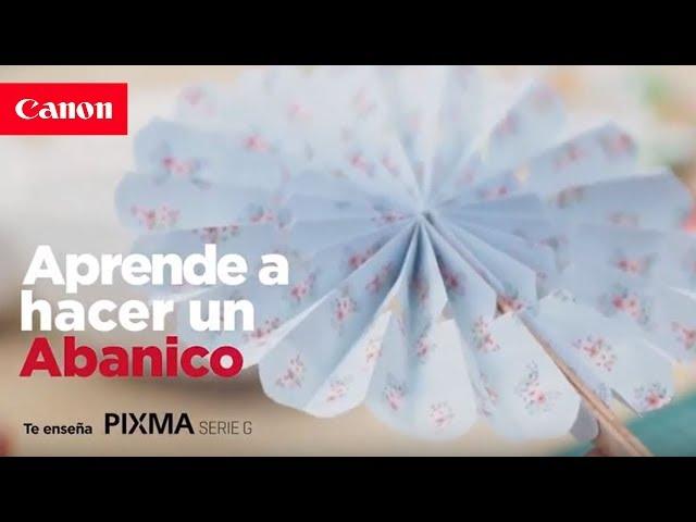 Tutorial Abanico - #PixmaSerieG