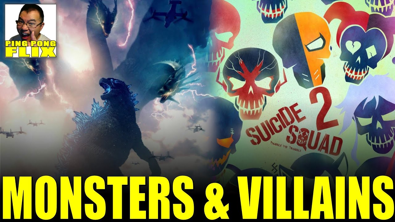 Monsters And Villains Godzilla King Of The Monsters Embargo Lifts More Join The Suicide Squad