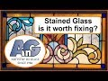 Restoring antique stained glass - is it worth it?