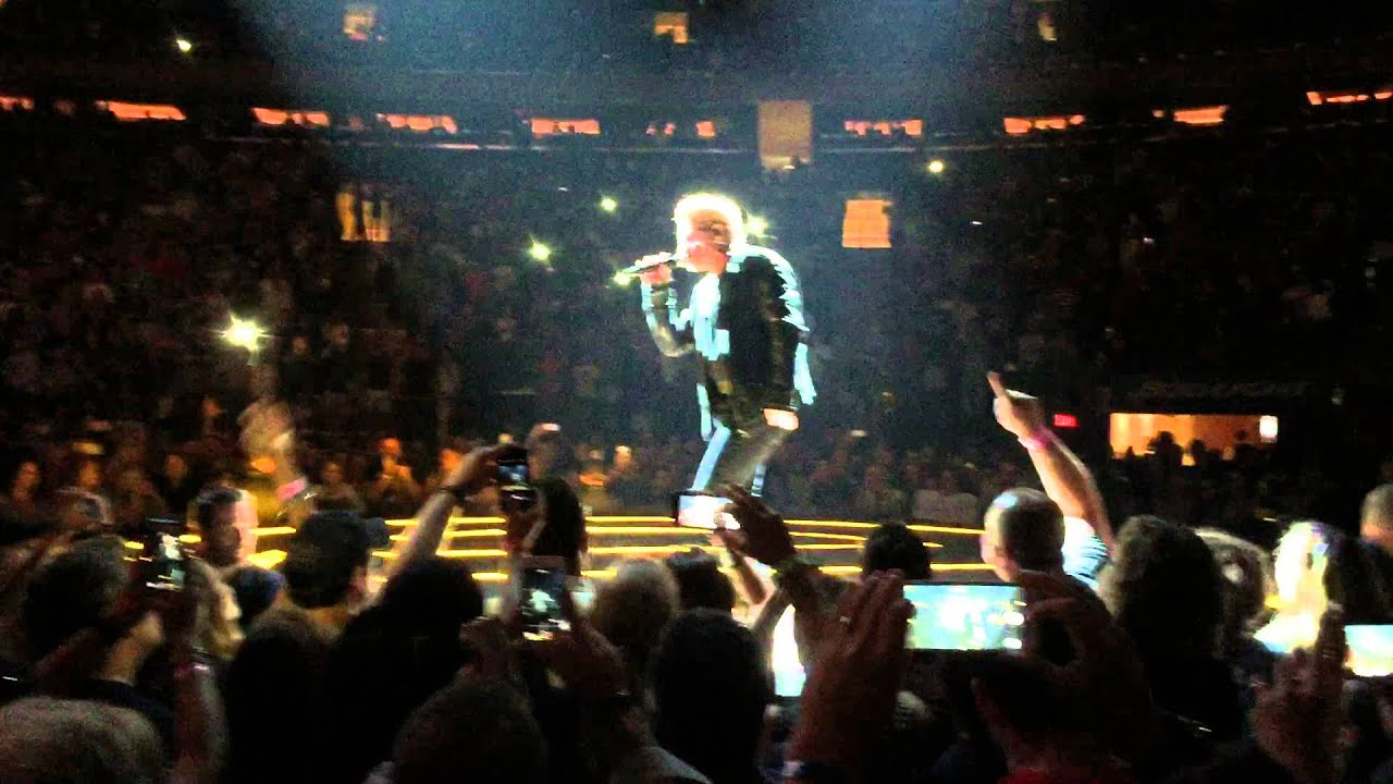 U2 Song For Someone Madison Square Garden New York City Ny July 18 2015 Youtube