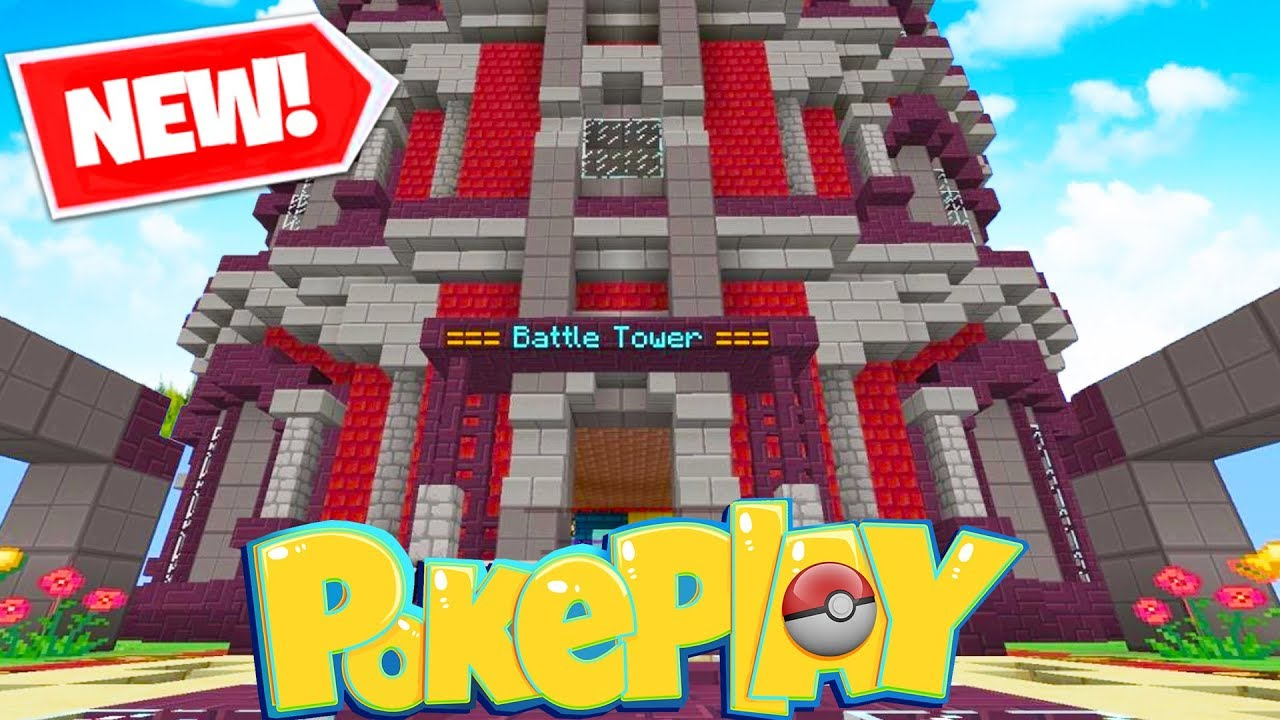Brand New 100 Level Battle Tower Update Minecraft Pixelmon