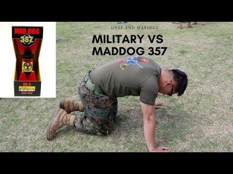 MILITARY VS MADDOG 357....