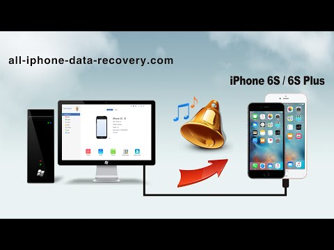 How to Transfer Ringtones from Computer to iPhone 6S Plus, Import Ringtones to iPhone 6S