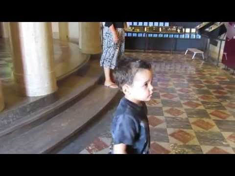 Jayden gives a tour of the Griffith Observatory