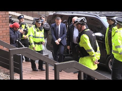Wayne Rooney Arrives At Court On Drink Drive Charge