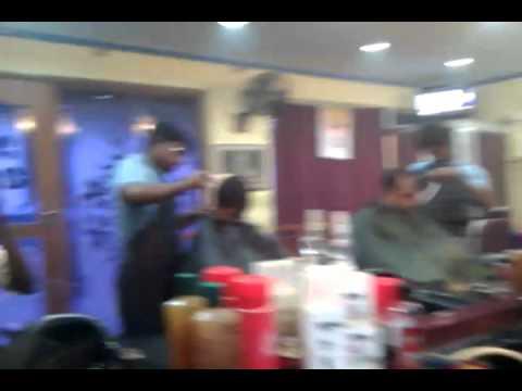 chennai hair cutting.3gp