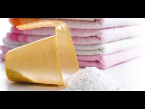 Смотреть онлайн Как сделать стиральный порошок?  How to make laundry detergent handmade?