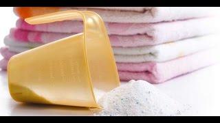 Как сделать стиральный порошок?  How to make laundry detergent handmade?