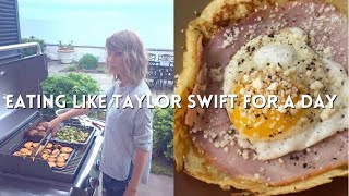 EATING LIKE TAYLOR SWIFT IN A DAY (what does Taylor swift eat in a day?)