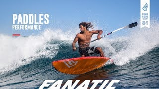 Fanatic Paddles 2018 - Performance Range