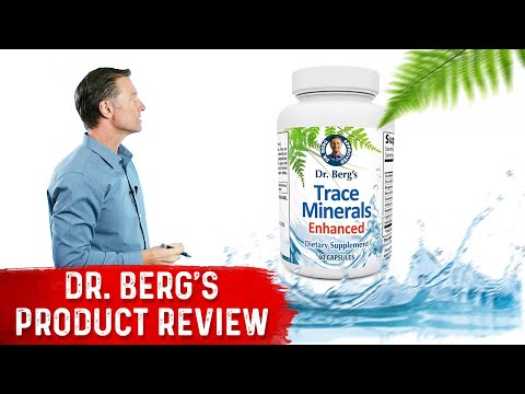 Zinc Enhanced Trace Minerals: Dr. Berg's Product Review