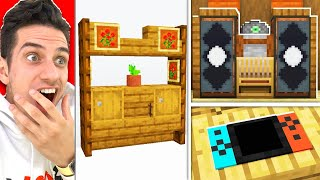 Testing 7 BUILDING HACKS You DIDN'T KNOW in MINECRAFT! (NO MODS!)
