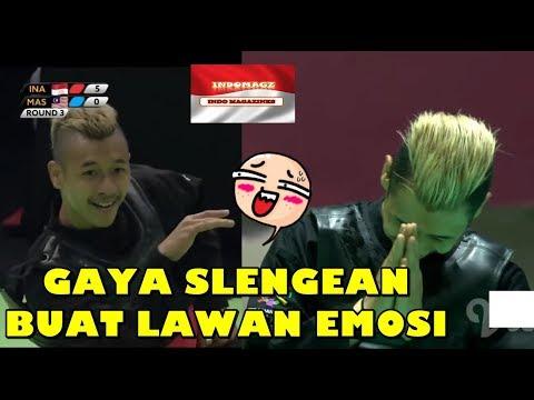 HANIFAN YK, PESILAT MUDA SLENGEAN YANG SERING BUAT LAWAN EMOSI   ASIAN GAMES 2018   JAKARTA