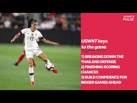 USWNT road to repeat: Thailand game offers chance to build momentum