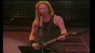 Metallica Whiplash Live 1991 at Moscow Russia