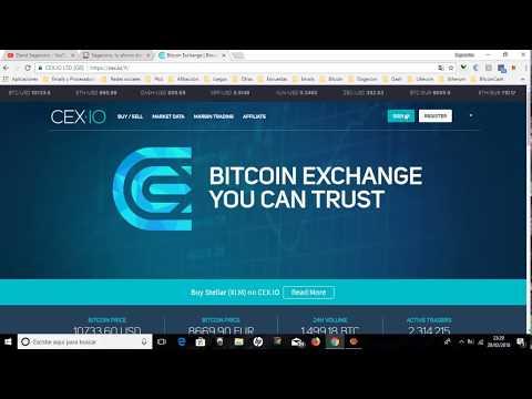 Cex-io ¿Que Es Y Como Funciona - Tutorial Y Trucos Cex-io. Comprar Bitcoin