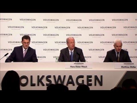2015 Volkswagen AG Press Conference Hans Dieter Pötsch Speech - AutoEmotionenTV