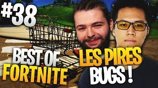 BEST OF FORTNITE FR #38 'KINSTAAR ' ROBI DANS LE CADDIE ! (LES PIRES BUGS)