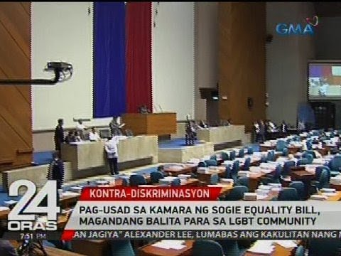 Pag-usad sa Kamara ng SOGIE Equality Bill, magandang balita para sa LGBT community