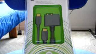 Xbox 360 HDMI AV Cable - Unboxing