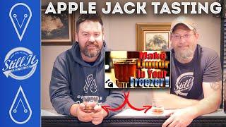 Gambar cover Tasting Bearded's Apple Jack Freezer Moonshine & Cream Ale