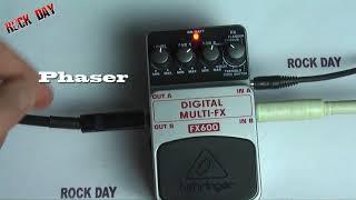 Behringer Digital Multi fx FX600 test