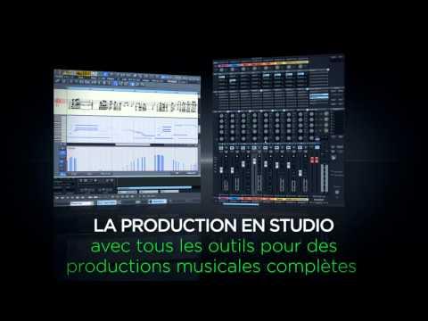 Le meilleur studio d'enregistrement - MAGIX Samplitude Music Studio MX (FR)