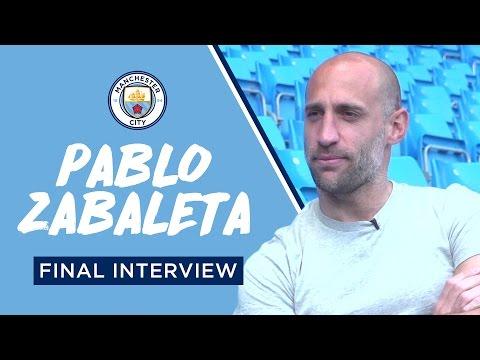 PABLO ZABALETA | THE FINAL CITYTV INTERVIEW
