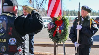 Arizona veterans honor fallen veterans