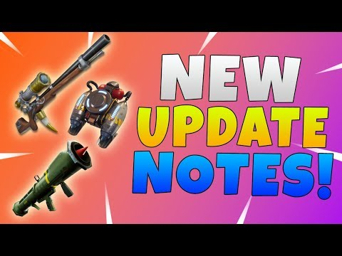 NEW 5.1 Content Update Patch Notes   Fortnite Jetpack and Guided Missile Are Back!