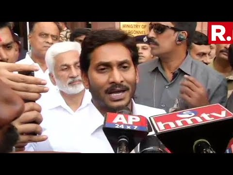 After Meeting Home Minister Amit Shah, Andhra Pradesh CM Jagan Mohan Reddy Speaks To The Media