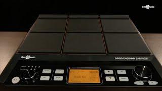 DD90 DigiPad Sampler by Gear4music - Overview   Gear4music