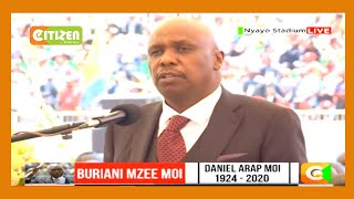 'Moi loved watching wrestling and nyama choma' Gideon Moi recalls his father's other love