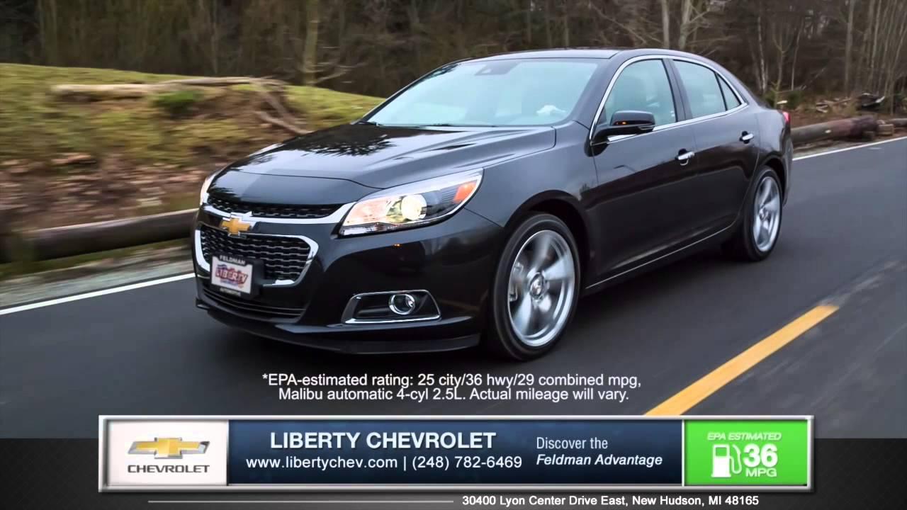 Superior 2015 Chevrolet Malibu Dominates New Ford Fusion In New Hudson, Michigan    YouTube