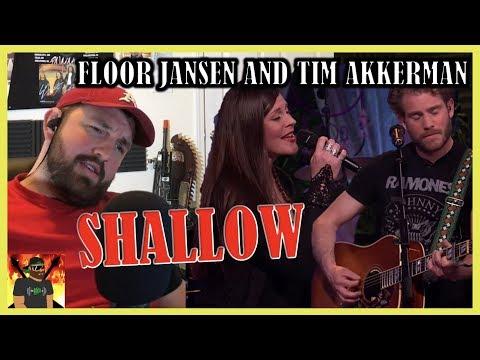 Overwhelming!   Tim Akkerman & Floor Jansen - Shallow   Beste Zangers 2019   REACTION