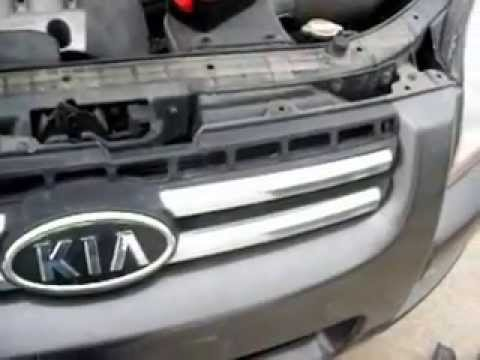 Radio Kia Sportage How to remove radio Kia Sportage