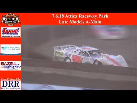 7.6.18 Attica Raceway Park Late Models A-Main