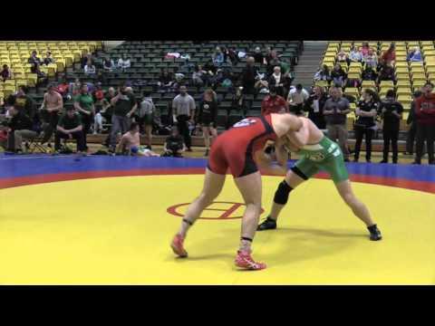 2016 Golden Bear Open: 100 kg Finn Higgins vs. Liam Graham