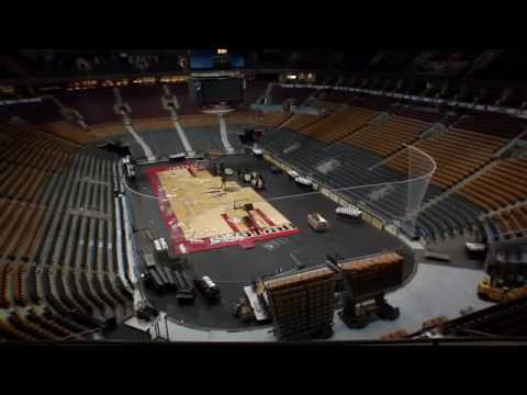 NHL To NBA In 3 Minutes! Timelapse Transformation Of Toronto's ACC