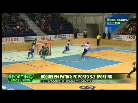 Hoquei Patins :: 17J :: Porto - 5 x Sporting - 2 de 2014/2015
