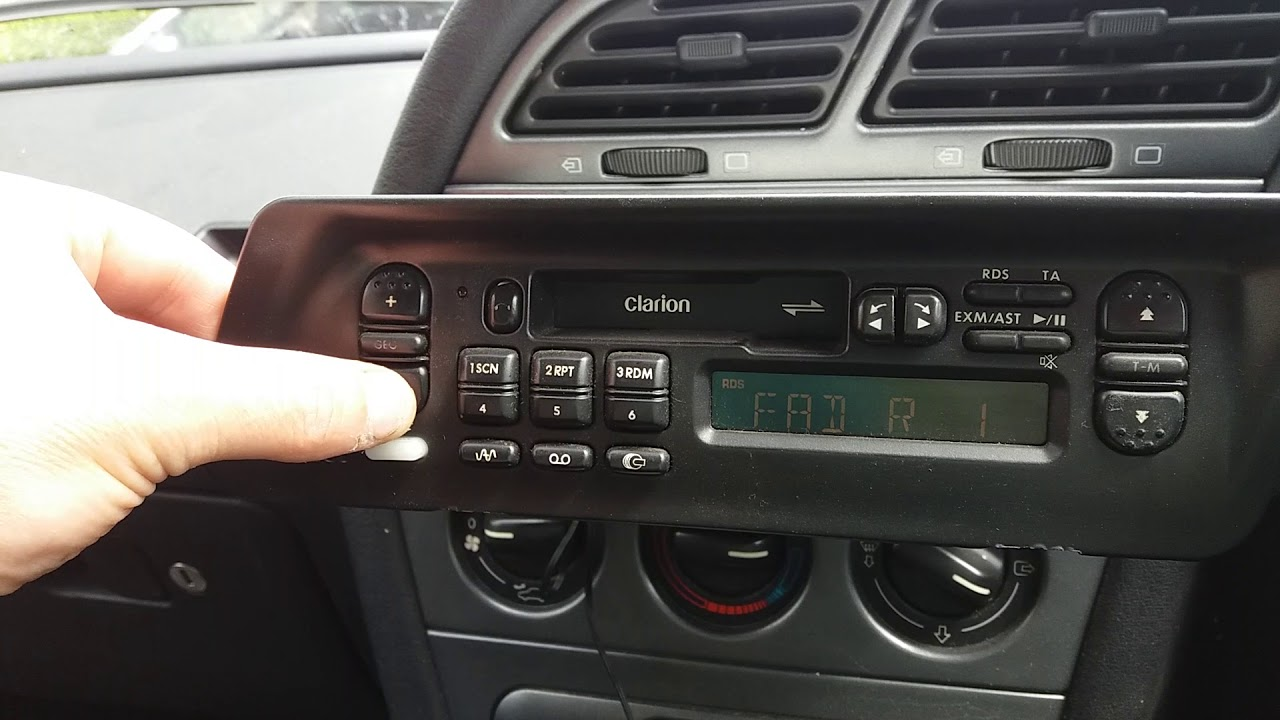 Peugeot 306 Clarion radio part 1 - YouTube on land rover discovery radio wiring, chrysler voyager radio wiring, smart fortwo radio wiring, hyundai elantra radio wiring, mitsubishi galant radio wiring, hyundai veloster radio wiring, bmw e30 radio wiring, toyota camry radio wiring, bmw e39 radio wiring,