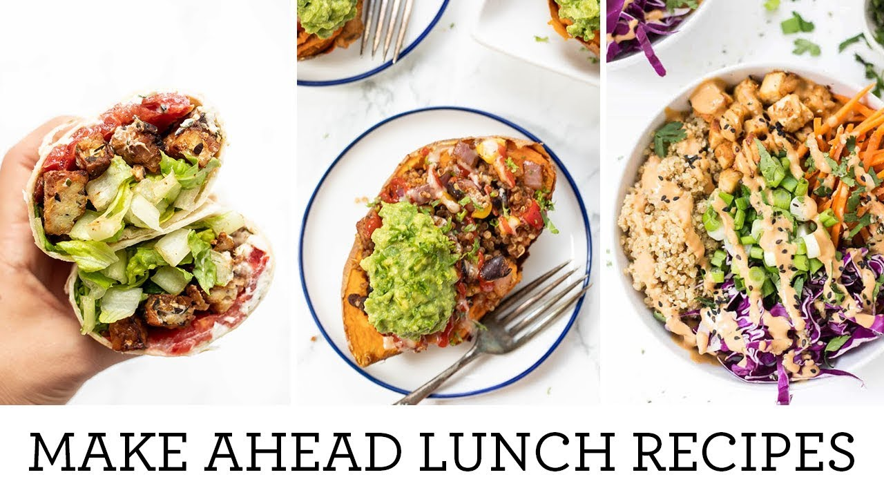 Meal Prep Lunch Dinner Recipes Easy Make Ahead Meals