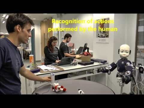 Cognitive architecture for robot perception and learning based on human-robot interaction