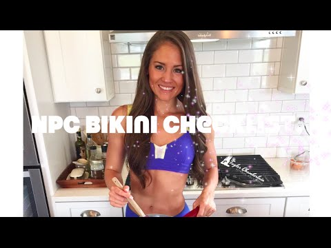 NPC Bikini Competition Checklist, Full-Body Circuit, Suit Reveal!