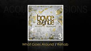 Justin Timberlake / Rihanna / T.I. - What Goes Around / Rehab (Boyce Avenue acoustic cover)